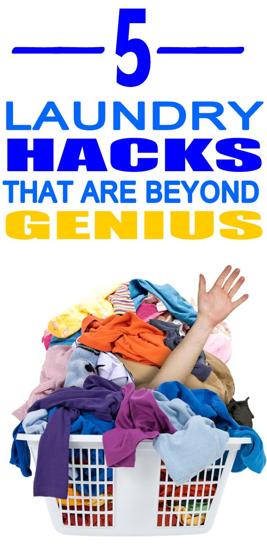 5 Laundry Hacks That Are Beyond Genius