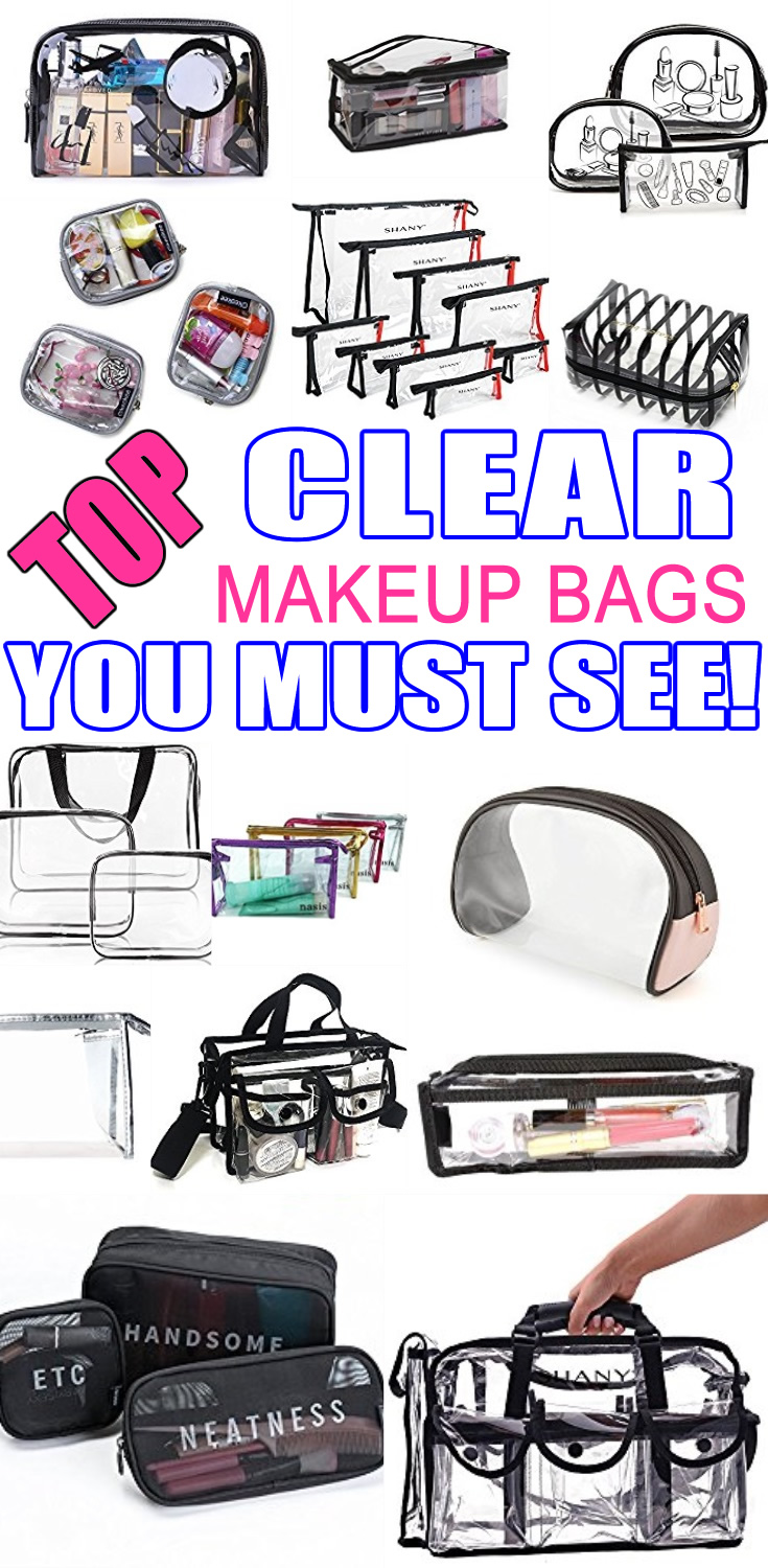 Clear Cosmetic Bags