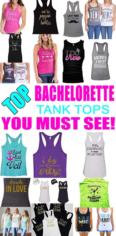Bachelorette Tanks