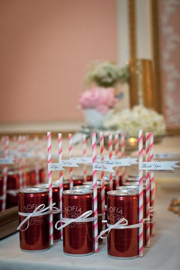 Wine Bridal Shower Favor