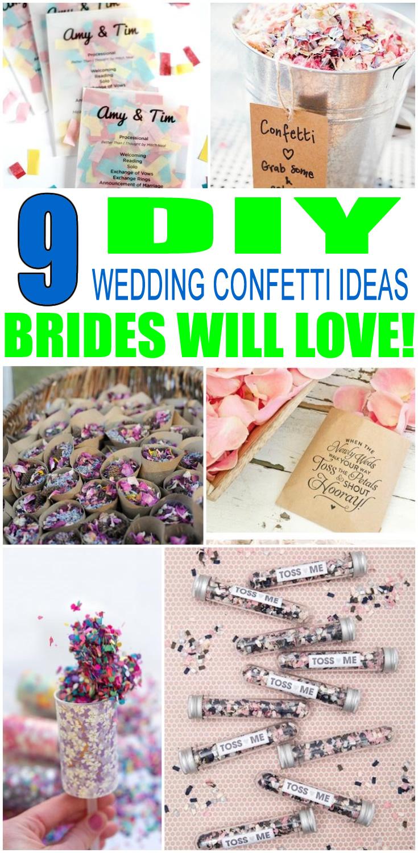 DIY Wedding Confetti