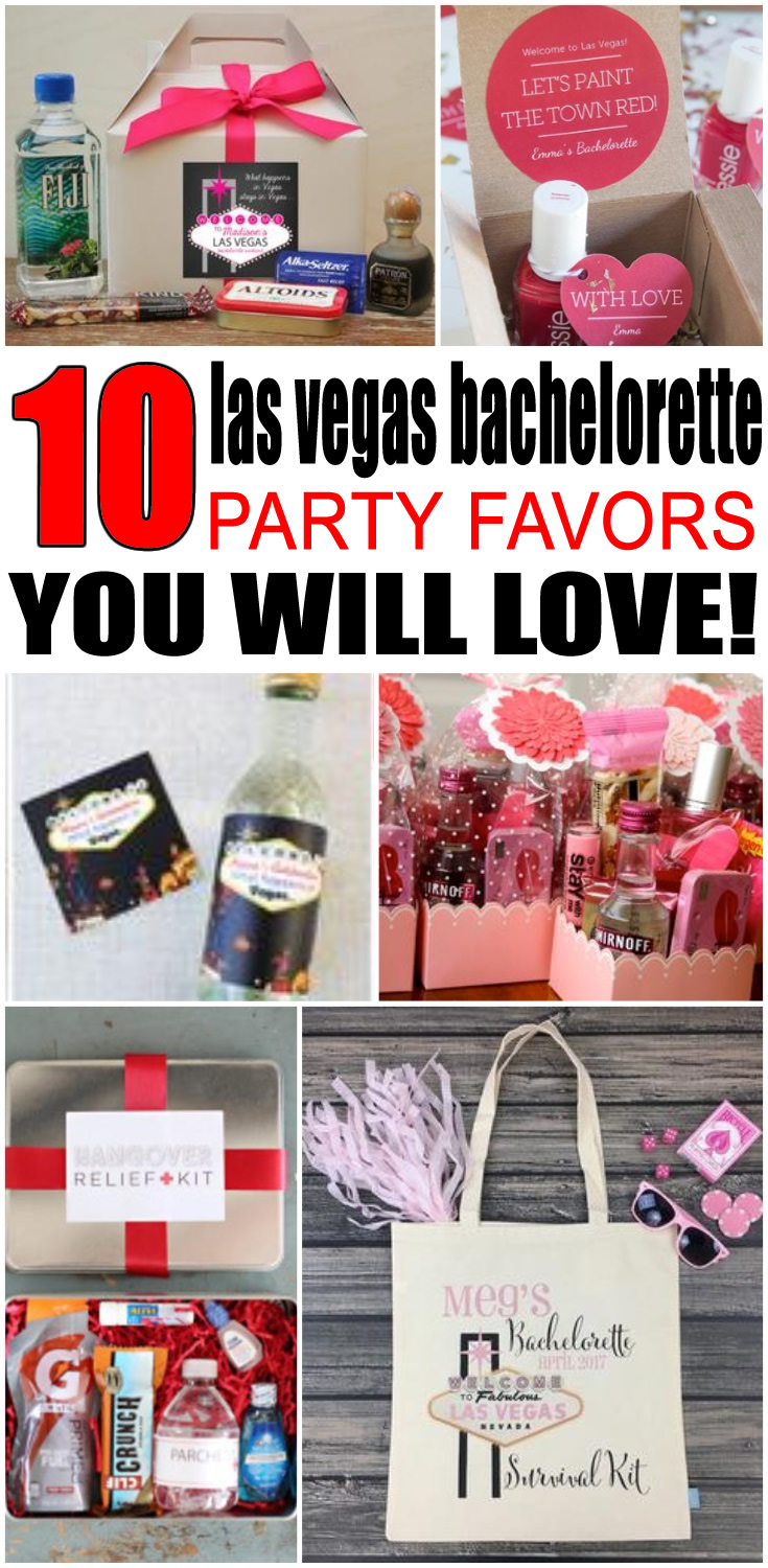Las Vegas Bachelorette Party Favors