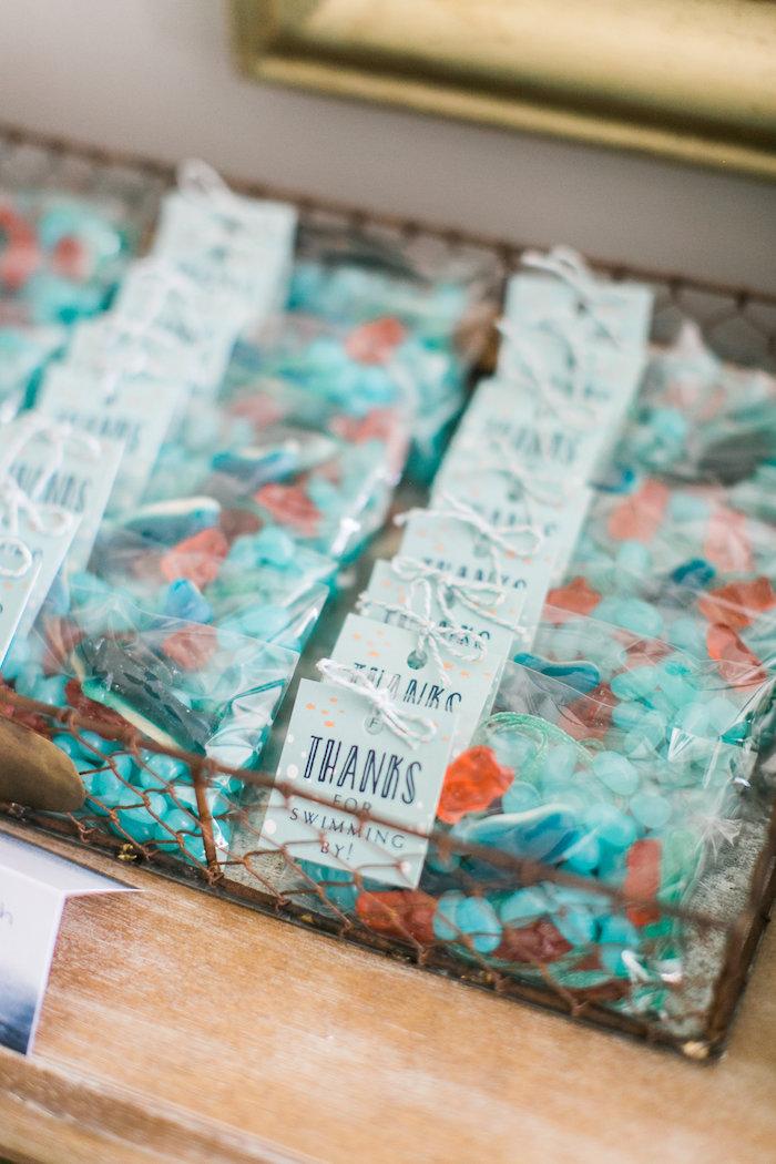 ocean wedding favors