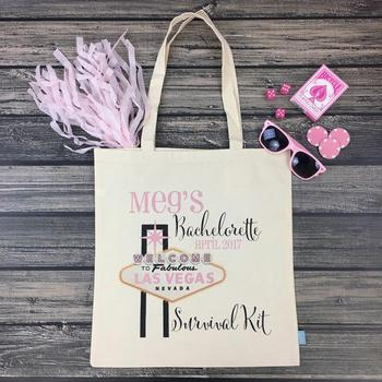 Las Vegas Bachelorette Survival Kit Bag