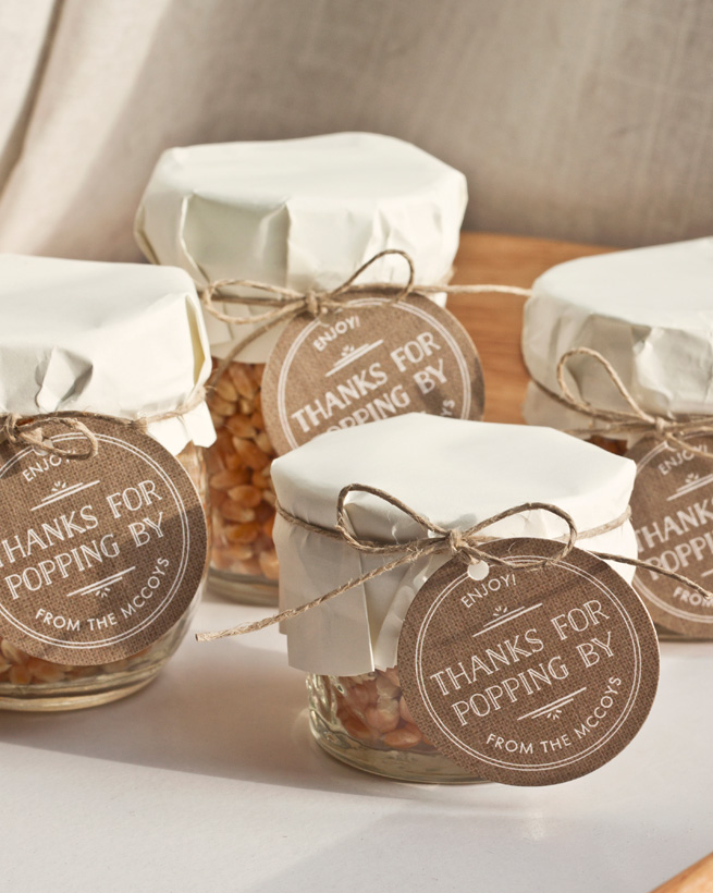 popcorn favors for wedding