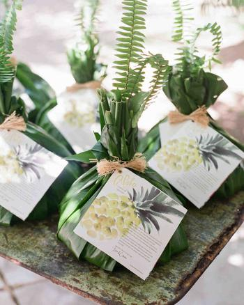 Tropical Wedding Shower Favors