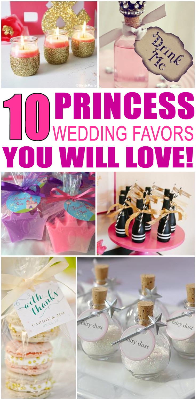 Princess Wedding Favors