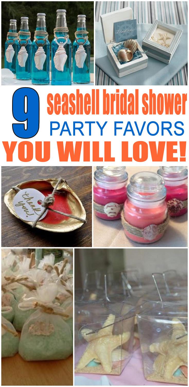 Seashell Bridal Party Favors