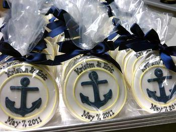 Anchor Cookie Favors