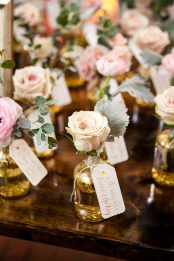 Bottle Rose Favors