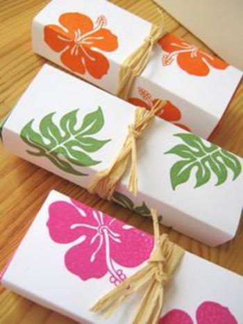Hawaiian Wedding Shower Favors