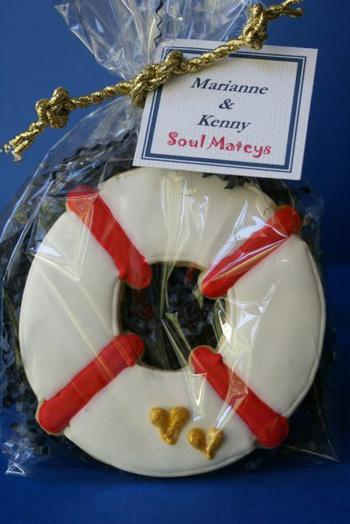 Life Ring Cookie Favors