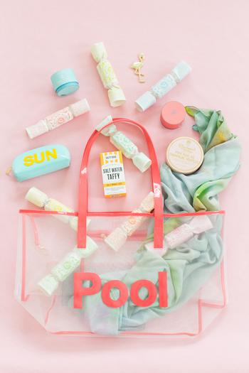 Pool Bachelorette Party Goodie Bag