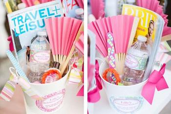Pool Bachelorette Party Welcome Kit