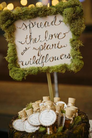 Spread The Love Garden Wedding Favors