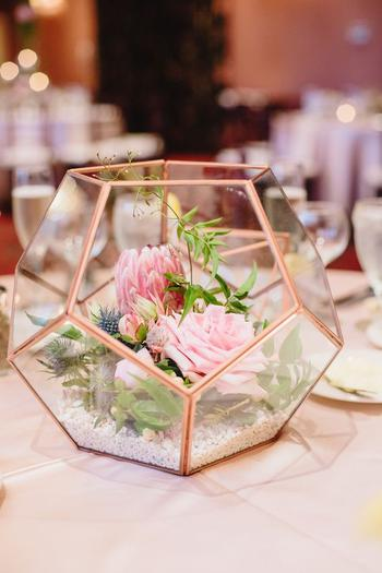 Terrarium Wedding Centerpiece