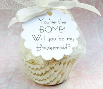 Cheap Bridesmaid Proposal Gift
