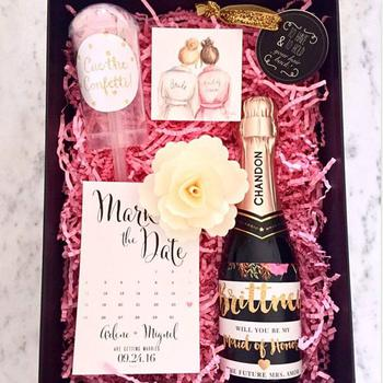 Creative Bridesmaid Proposal Box
