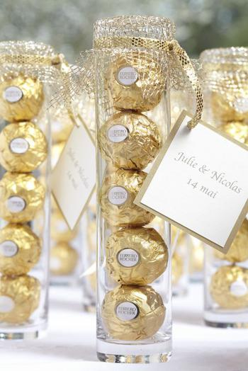 Ferrero Rocher Wedding Favor