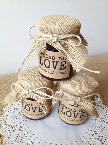Jam Wedding Favor Ideas