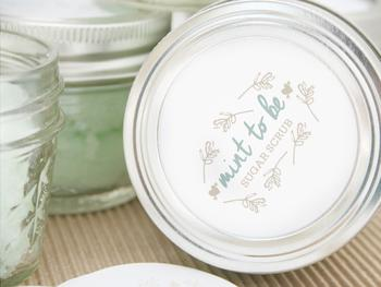 Mason Jar Mint To Be Wedding Favor