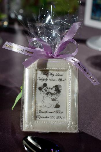 Mini Frame Disney Wedding Favor