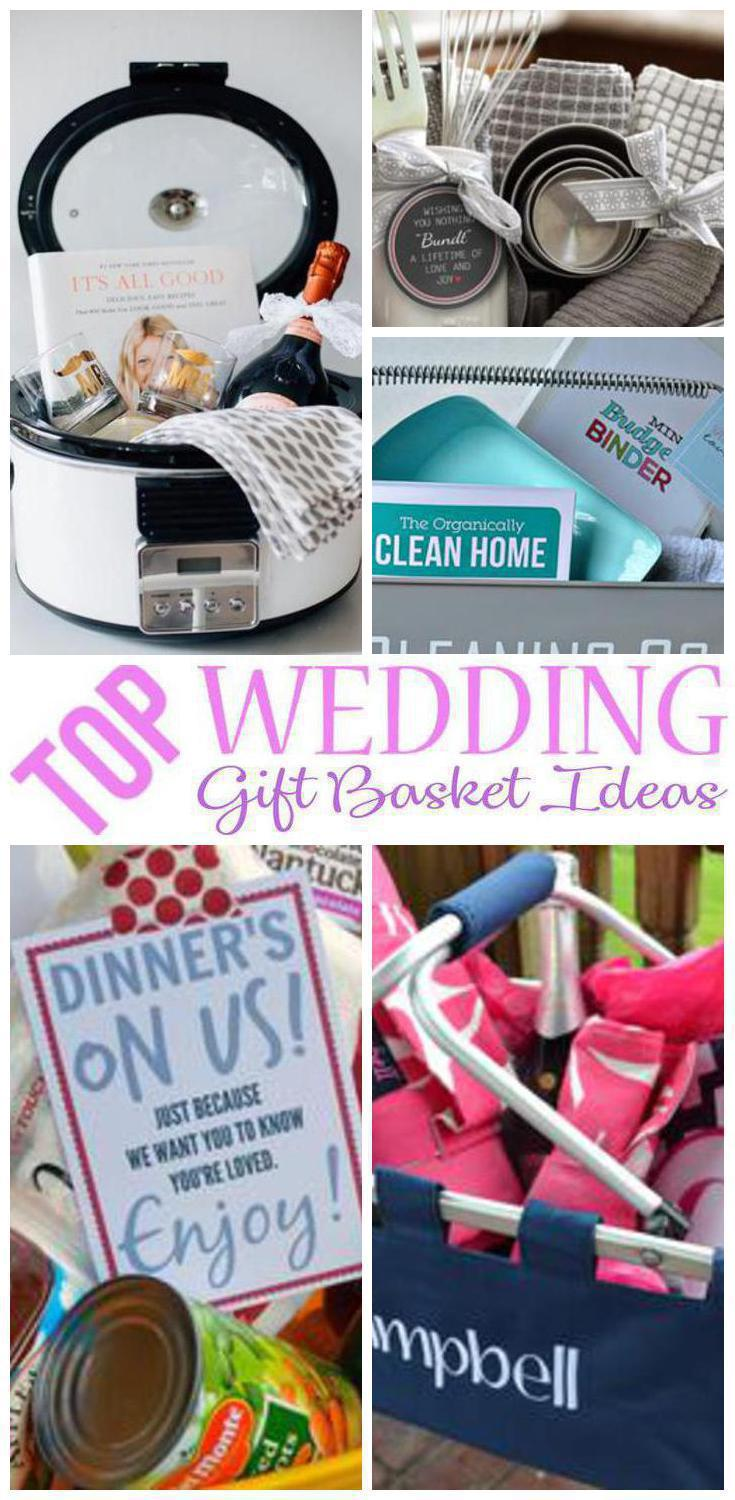 wedding gift basket ideas