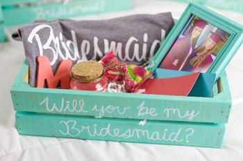 What To Put In A Bridesmaid Proposal Box