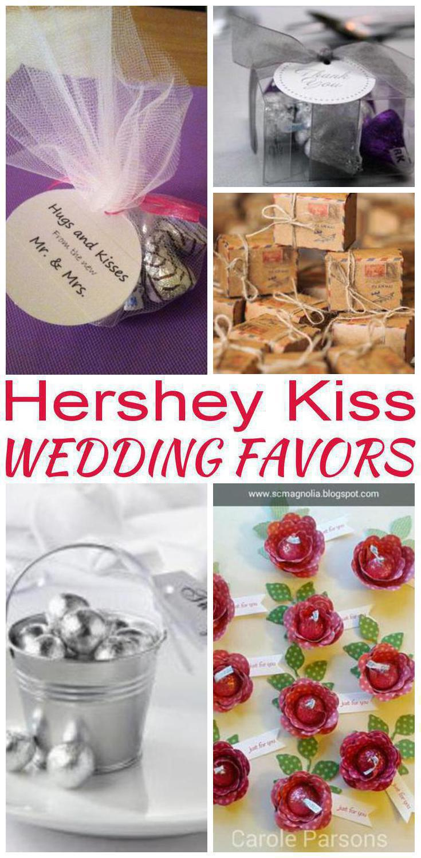 Hershey Kiss Wedding Favors • 🐼 Laughing Pandas 🐼