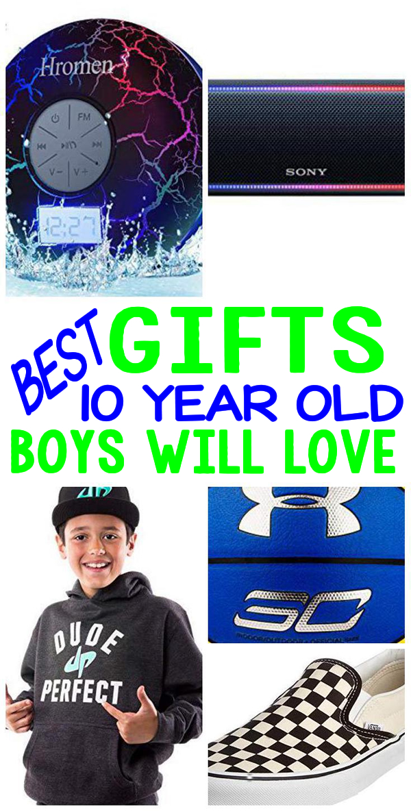 Gifts 10 Year Old Boys Birthday
