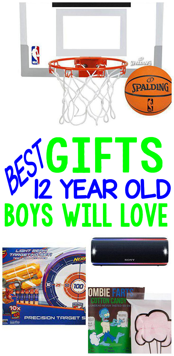 BEST Gifts 12 Year Old Boys Will Love