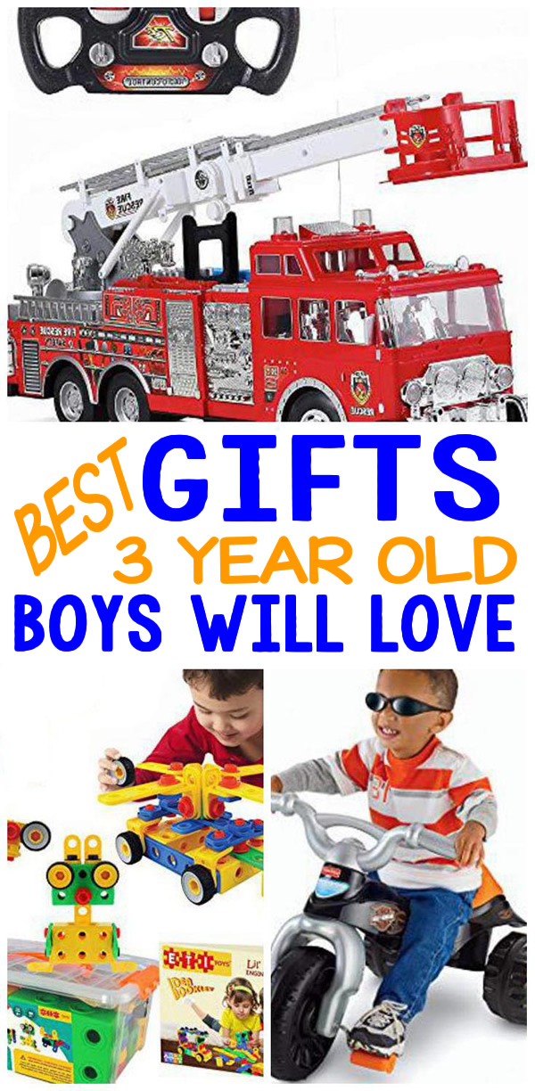 Gifts 3 Year Old Boys