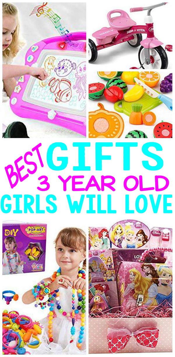 Gifts 3 Year Old Girls