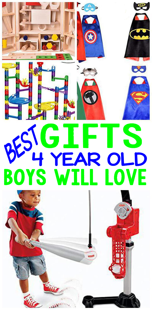 Gifts 4 Year Old Boys