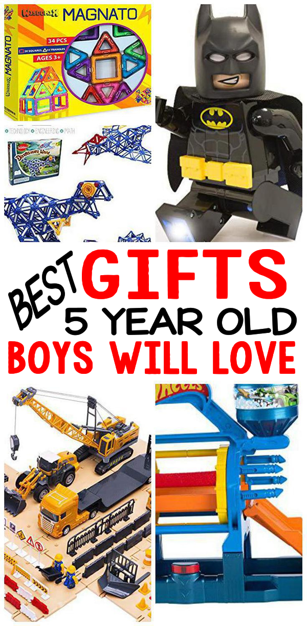 Gifts 5 Year Old Boys Birthday