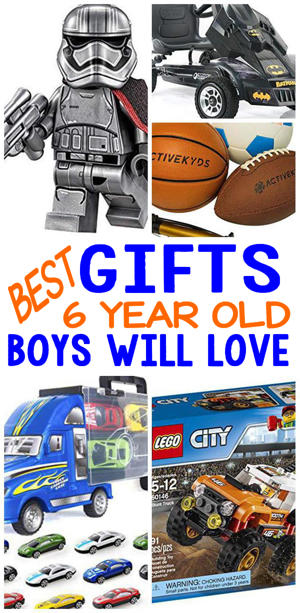 Gifts 6 Year Old Boys Birthday