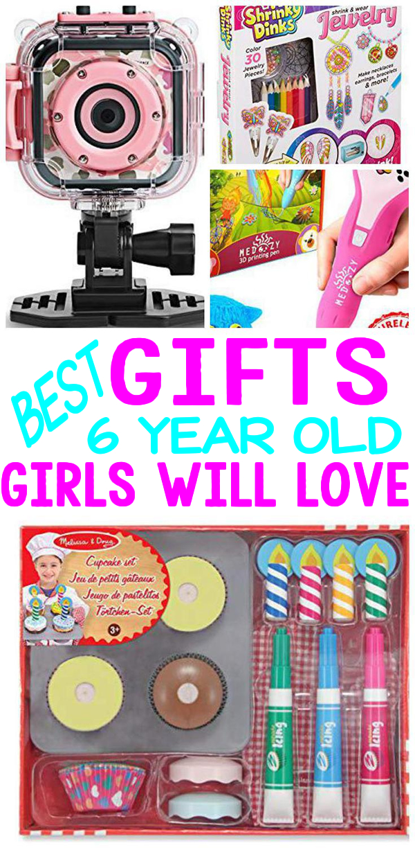 Gifts 6 Year Old Girls